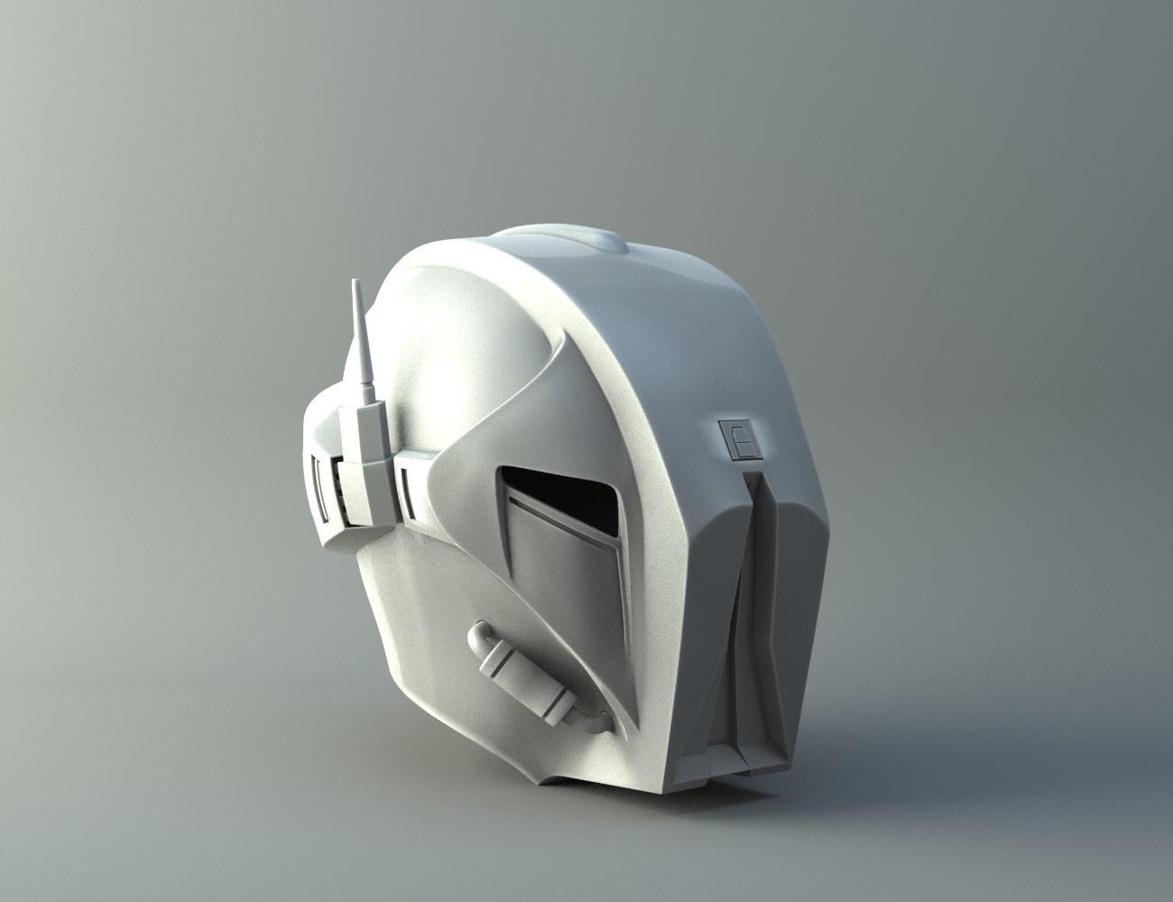 droid1.jpg Download STL file HK47 Assassin Droid - Star Wars - Helmet 3D print model • Template to 3D print, 3D-mon