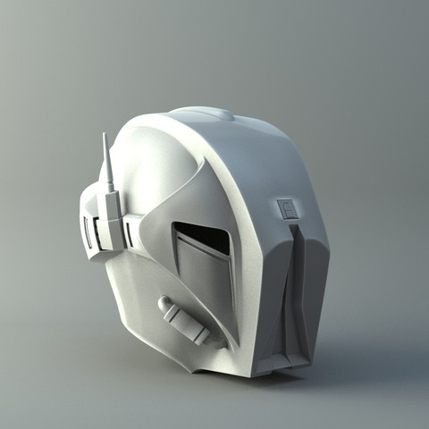 Archivos STL HK47 Assassin Droid - Star Wars - Modelo de impresión en 3D del casco, 3D-mon