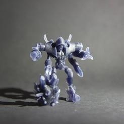 STL Figurine Ramplpanker, 3D-mon