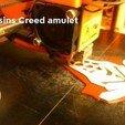 Download STL file Assassins Creed amulet, 3D-mon