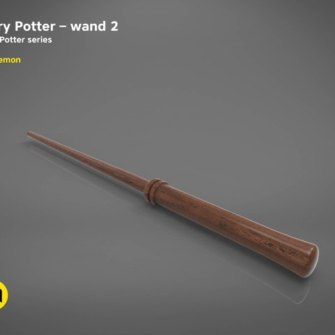 title_page6.jpg Download STL file Harry Potter Wand version 2 - Harry Potter 3D print model • 3D print model, 3D-mon