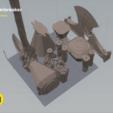 Télécharger STL Brise-tempête - Thor Axe, 3D-mon