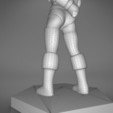 Rogue_2-detail_6.479.jpg Download STL file ELF ROGUE FEMALE CHARACTER GAME FIGURES 3D print model • 3D printer object, 3D-mon