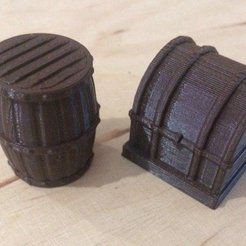 Free STL files Simple mini models, 3D-mon