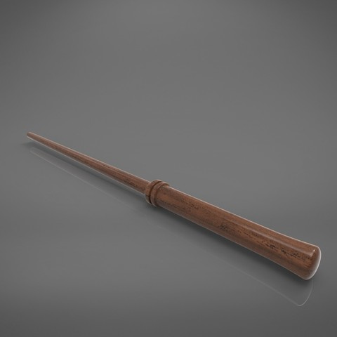Potter2-main_render.846.jpg Download STL file Harry Potter Wand version 2 - Harry Potter 3D print model • 3D print model, 3D-mon