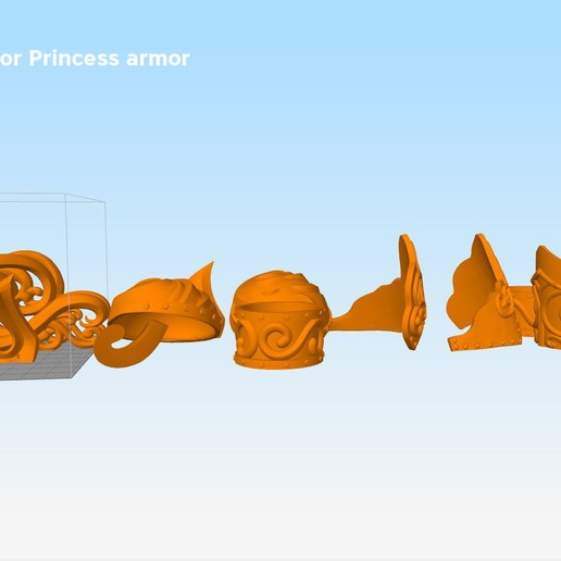 Xena-armor-parts2.jpg Download STL file Xena - Warrior Princess cosplay armor • 3D print template, 3D-mon