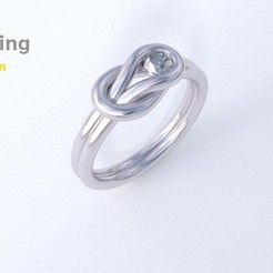 Download 3D printer model Loop Ring, 3D-mon