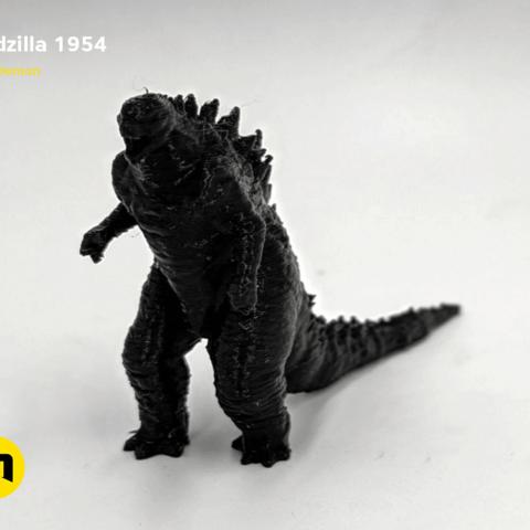 IMG_20190301_095306.png Download free OBJ file Godzilla 1954 figure and bottle opener • 3D printer model, 3D-mon