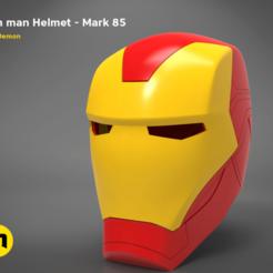 render_scene_new_2019-details-main_render.1222.png Télécharger fichier STL Casque Iron Man Mark 85 • Objet imprimable en 3D, 3D-mon