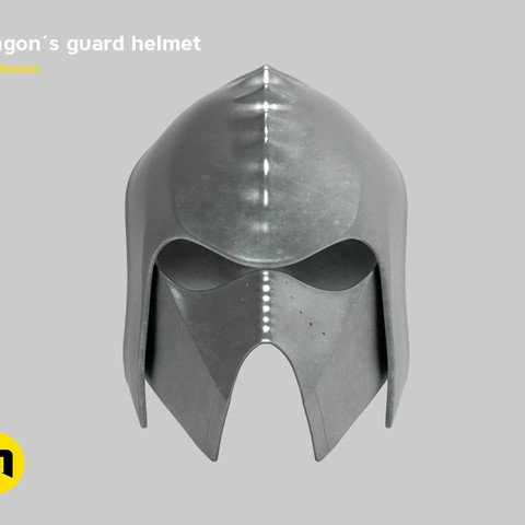 render_klingon_color.51.jpg Download STL file Klingon guard helmet • 3D printer object, 3D-mon