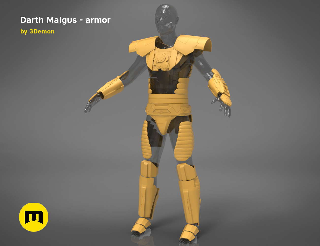 Darth-Malgus-armor-render_scene_basic.101 kopie.jpg Download STL file Darth Malgus's full size armor • Design to 3D print, 3D-mon
