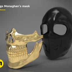 Télécharger STL Masque de Higgs Monaghan - Échec à la mort, 3D-mon
