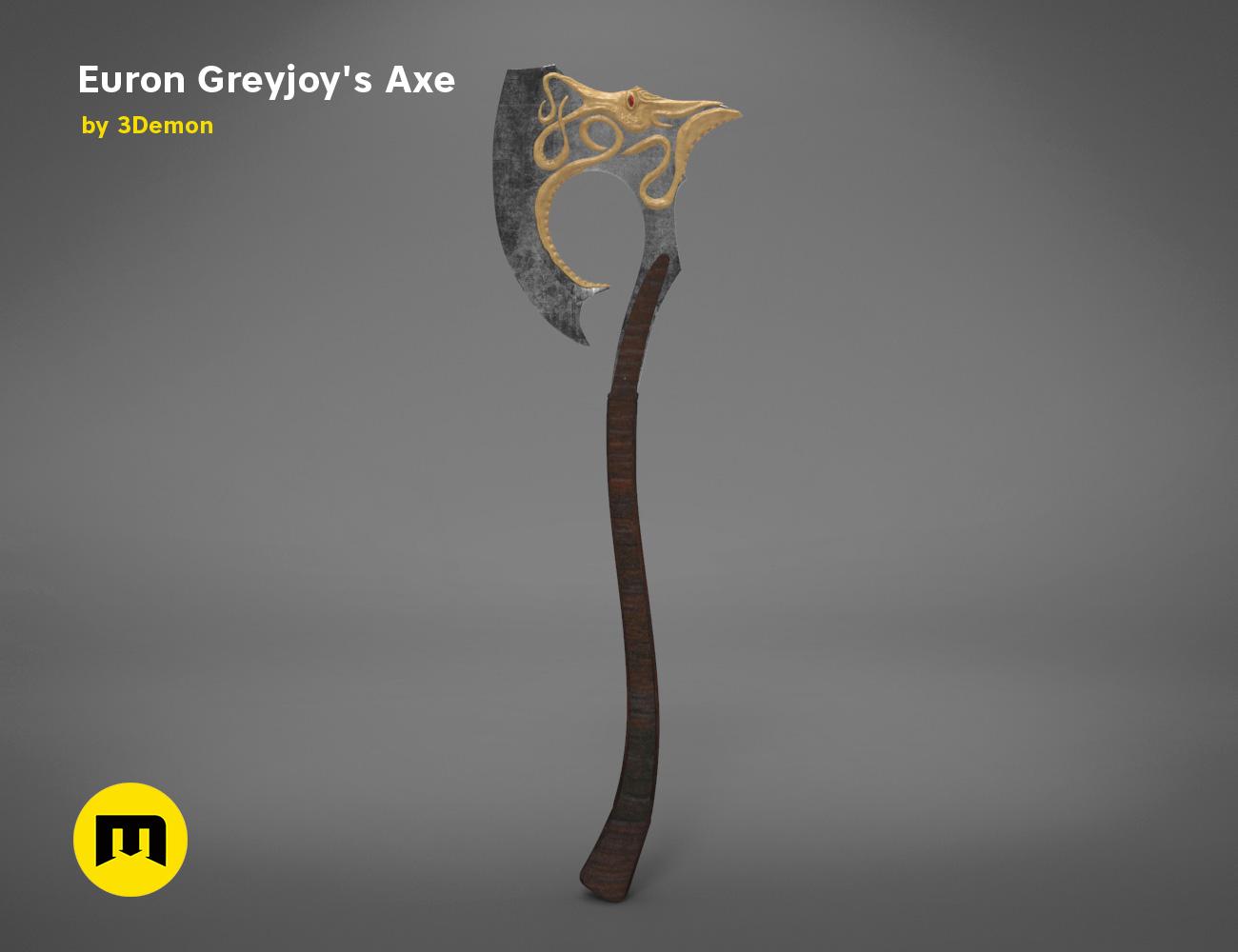axe-gameofthrones-render.972.jpg Download OBJ file Euron Greyjoy's Axe • 3D printable object, 3D-mon