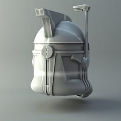 Imprimir en 3D Casco Clonetrooper - Universo Star Wars, 3D-mon