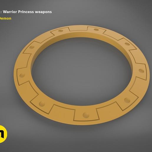 render_scene_xena-weapons-basic.55 kopie.jpg Download STL file Xena - Warrior Princess Chakrams • 3D print model, 3D-mon