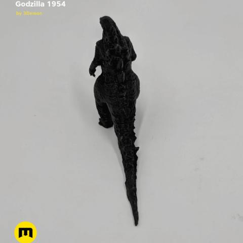 IMG_20190301_095329.png Download free OBJ file Godzilla 1954 figure and bottle opener • 3D printer model, 3D-mon