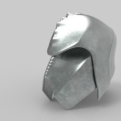 3D printer files Klingon guard helmet, 3D-mon