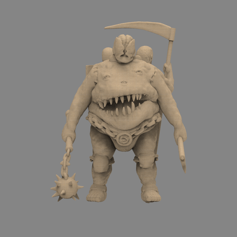 fatman_scene.79.png Download STL file Pirfes figure - 3D print model • Design to 3D print, 3D-mon