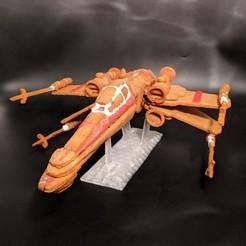 x-wing star wars gingerbread cookie.jpg Télécharger fichier STL Coupe-biscuits en pain d'épice X-Wing • Objet pour impression 3D, 3D-mon