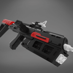 Download 3D printer templates Sith Trooper  W48 Blaster, 3D-mon