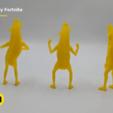 Descargar archivo 3D Figuras de plátanos Peely Fortnite, 3D-mon
