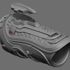 Download 3D print files Predator Fugitive Gauntlet, 3D-mon