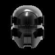 render_scene-front.127.png Download OBJ file Sniper - Knights of Ren Helmet mask, Star Wars 3D print model • 3D printable model, 3D-mon