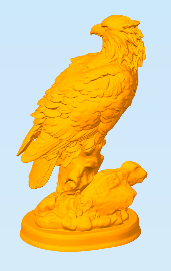 Снимок4.PNG Download free STL file Eagle • 3D printable object, MrDetrout