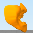 Снимок2.PNG Download free STL file Samurai Mask • 3D print template, MrDetrout