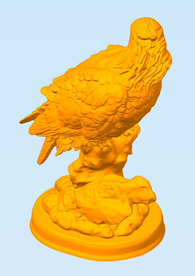 Снимок5.PNG Download free STL file Eagle • 3D printable object, MrDetrout