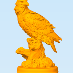 Free 3D printer file Eagle, MrDetrout