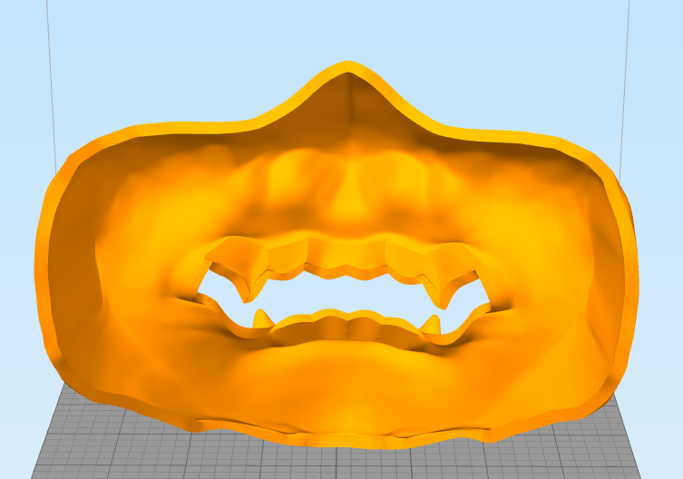 Снимок3.PNG Download free STL file Samurai Mask • 3D print template, MrDetrout