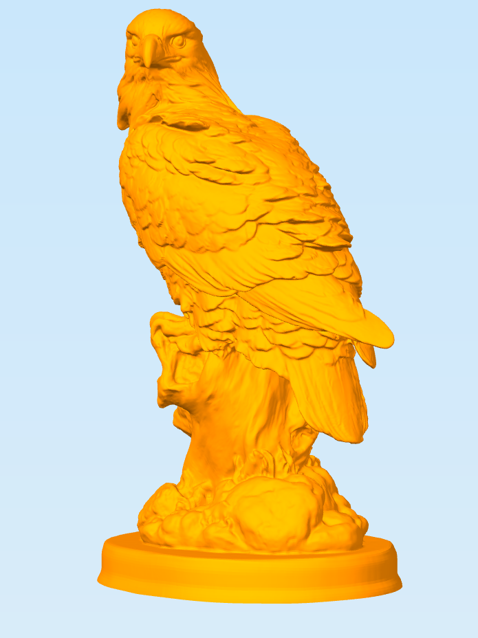 Снимок2.PNG Download free STL file Eagle • 3D printable object, MrDetrout