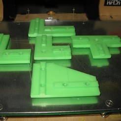 IMG_3174.JPG Download free STL file 2020 Aluminum Extrusion Plates • 3D printer design, adamjvr