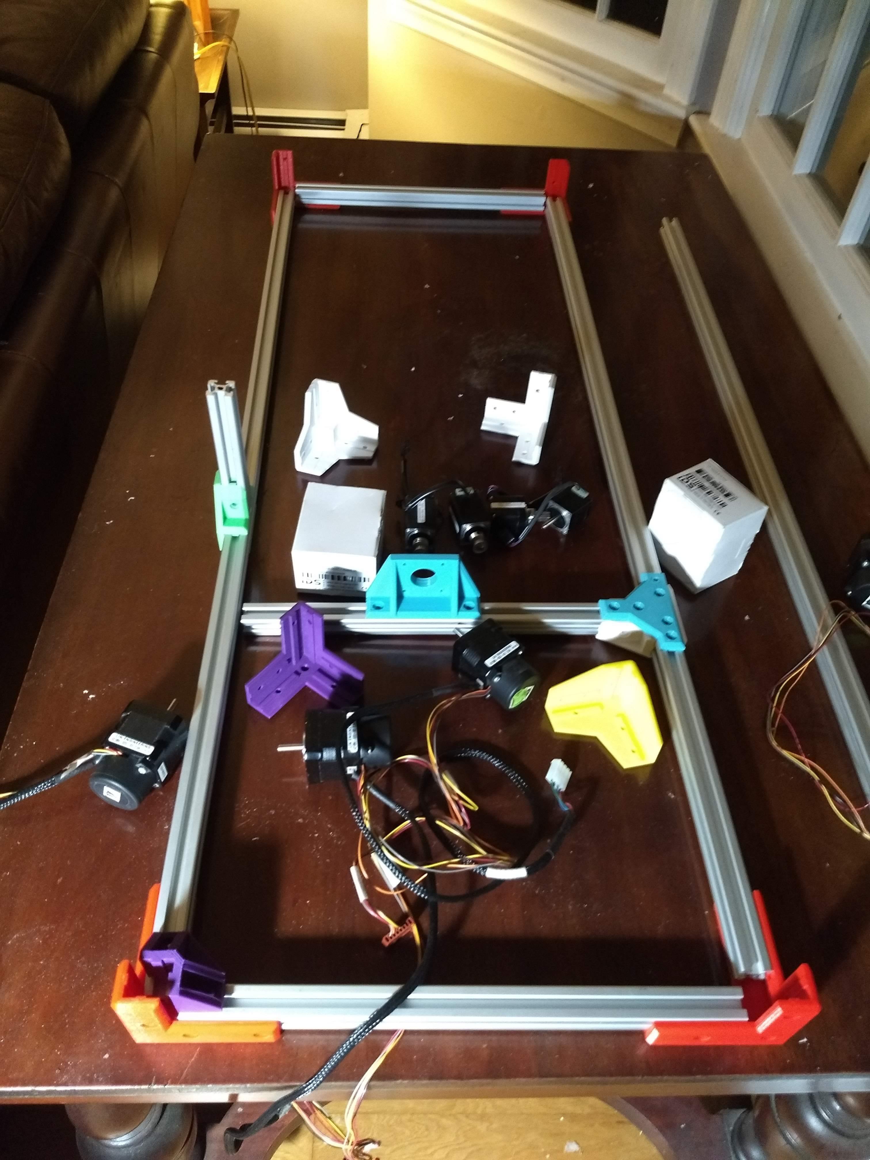 IMG_20200217_193745961.jpg Download free STL file 2020 Profile Aluminum 3D Printable Erector Set • 3D printer model, adamjvr