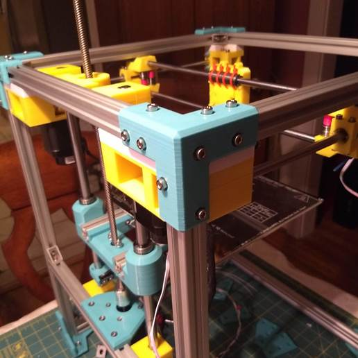 IMG_20200209_014923253_1.jpg Download free STL file 2020 Profile Aluminum 3D Printable Erector Set • 3D printer model, adamjvr