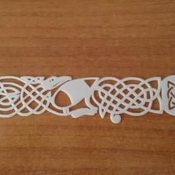 CelticBookmark_preview_featured.jpg Download STL file Celtic Bookmark • 3D print template, ecelo