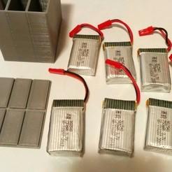 1c234b9fa52c872254f479fbfc6850b1_preview_featured.jpg Télécharger fichier STL Boîtier pour batteries de lipo de 750 mh avec couvercle • Objet pour imprimante 3D, ecelo