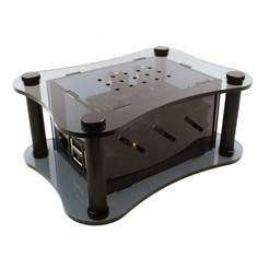 Aoide-acrylic-case-for.jpg Télécharger fichier STL Cas de la framboise PI3+ et du DAC Aoide II • Plan imprimable en 3D, ecelo