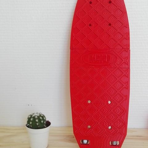 Download STL file SkateBoard-Dabord • 3D print design, LePoulpe