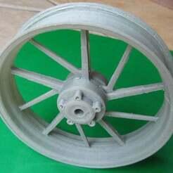 Galespeed_FrontWheel9.jpg Download free STL file Galespeed Front Wheel 1:5 • Model to 3D print, pauloblank