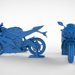 Download STL file Yamaha R6, Buildshapes