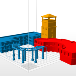 Download 3D printer designs Architecture Collection, Buildshapes
