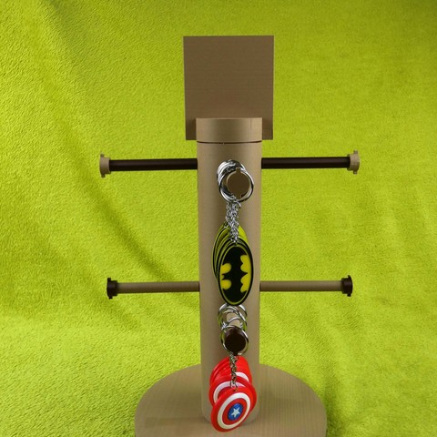 3.jpg Download STL file Display for Keychain and jewelry - Display for keychain and jewelry • 3D printer model, sebydjay