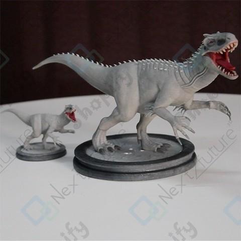 Descargar archivos STL Realistic Dinosaurs , N2F