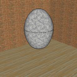 Télécharger fichier imprimante 3D gratuit Oeuf original   - Original egg, 3ID