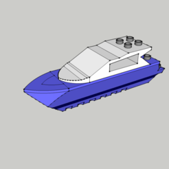 3D print files Lego - Boat - Boat - Duplo, 3ID