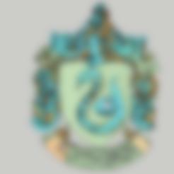3d printer files Harry Potter - Slytherin Necklace / Slytherin Pendant, 3ID