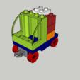 Modelos 3D para imprimir Lego Duplo - Camión - Camión -, 3ID