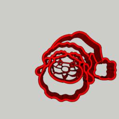 Diseños 3D Punch - Papá Noel / Santa Claus Cookies, 3ID